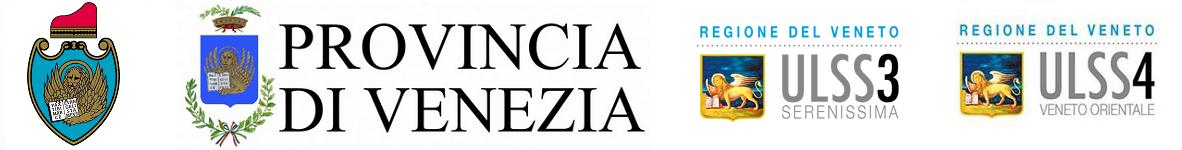 Città di Venezia, Provincia di Venezia, ULSS3 Serenissima, ULSS4 Veneto Orientale